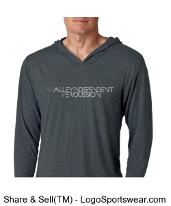 Next Level Adult Tri-Blend Hoodie Design Zoom